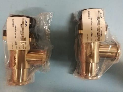 Rohový ventil VAT, série 264, DN 40